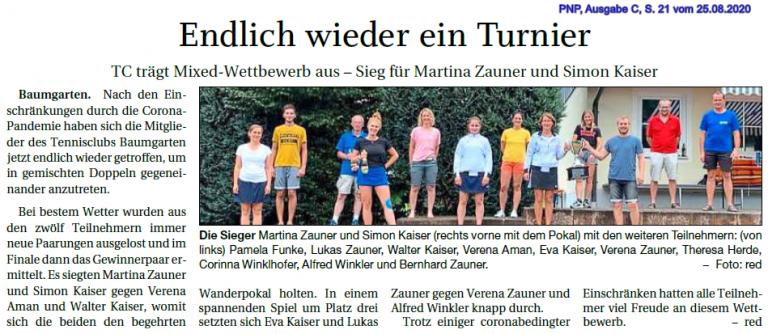 Tennisclub Baumgarten