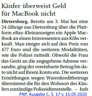 Grossansicht in neuem Fenster: MacBook