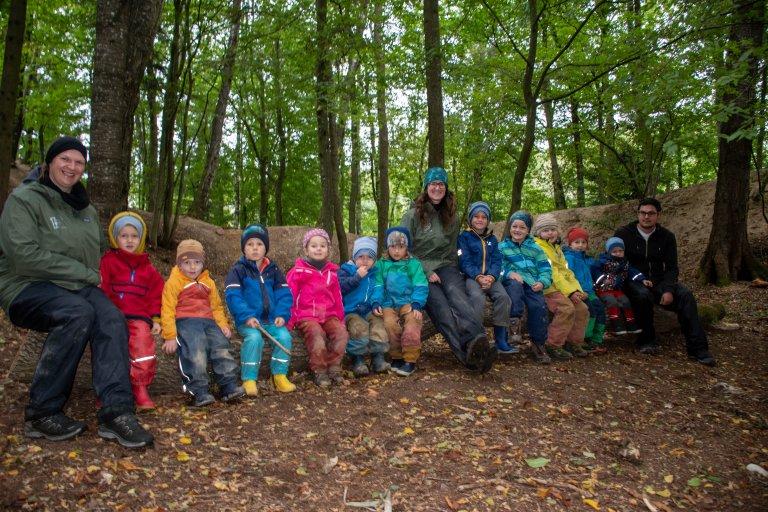 Grossansicht in neuem Fenster: Fotos Waldkindergarten