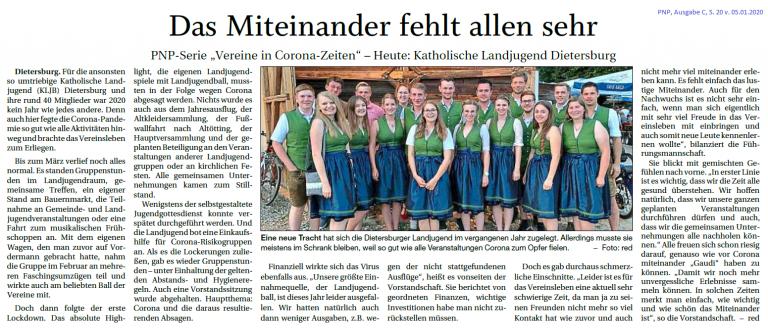 Grossansicht in neuem Fenster: Landjugend Dietersburg