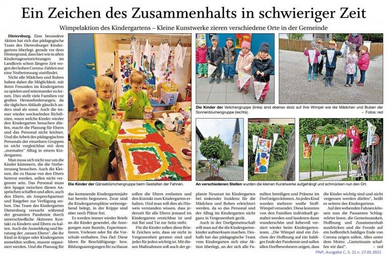 Grossansicht in neuem Fenster: Zusammenhalt Kindergarten